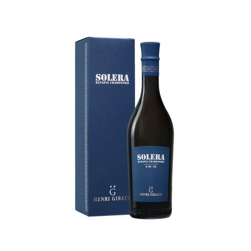 Solera Ratafia Champagne Henri Giraud